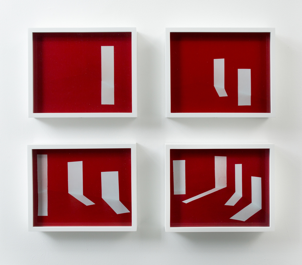 A Room of Her Own Punctuated Sequence in Red, I - IV