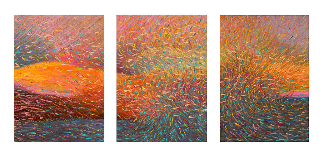 Drawings 2011-2015 Murmuration Suite, #1