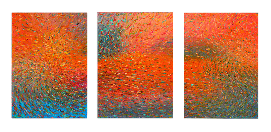 Drawings 2011-2015 Murmuration Suite, #2