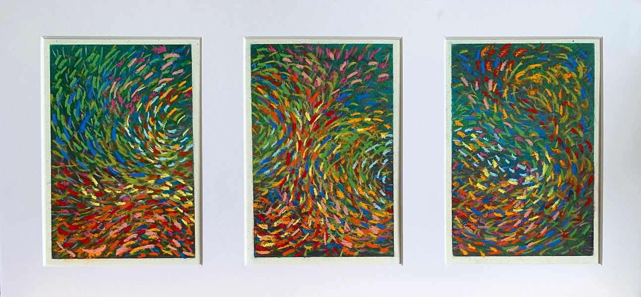 Drawings 2011-2015 Murmuration Suite, #3