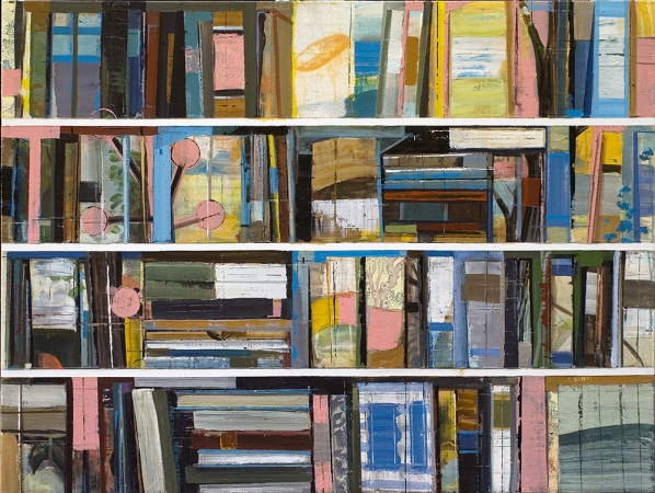 Stanford Kay Mid-sized Tomes Acrylic on canvas