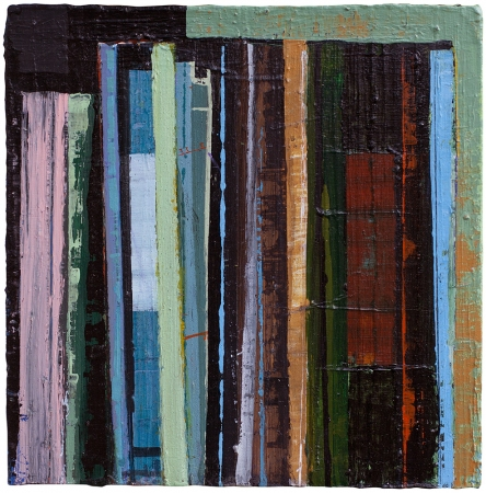 Stanford Kay Gutenberg Variations Small Works Acrylic on canvas