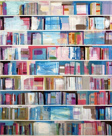 Stanford Kay Tiny Shelves Acrylic on canvas