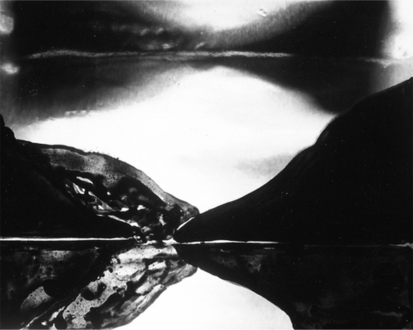 "Steel Stillman ""Transparencies,"" 1990-93 photograph"