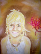 Stephanie Pierro Drawings Chalk Pastel