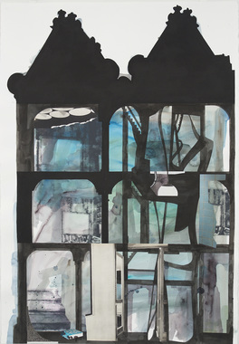 STEPHANIE SNIDER Drawings ink, watercolor, gouache, silkscreen, pencil and collage on paper