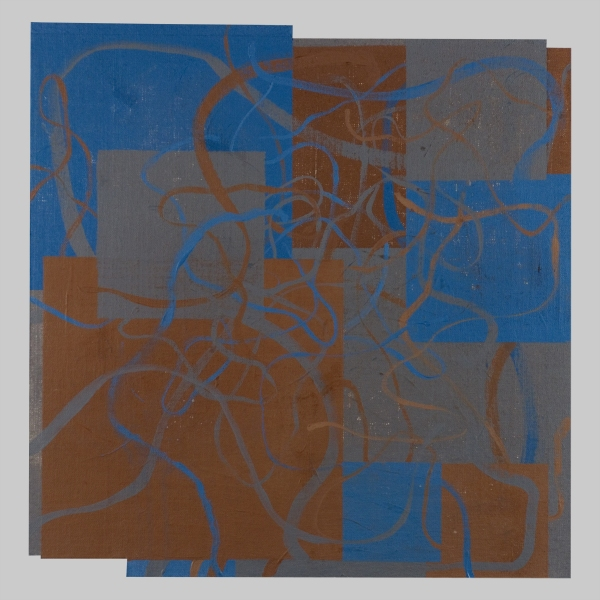 2010 Canvas Untitled [10a/l17.2x17.0TempPlanes&Lines(Paynes+BU)]