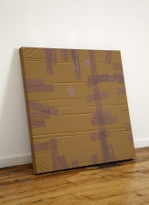 Steve DeFrank Past Work: Wood Grain Casein on panel