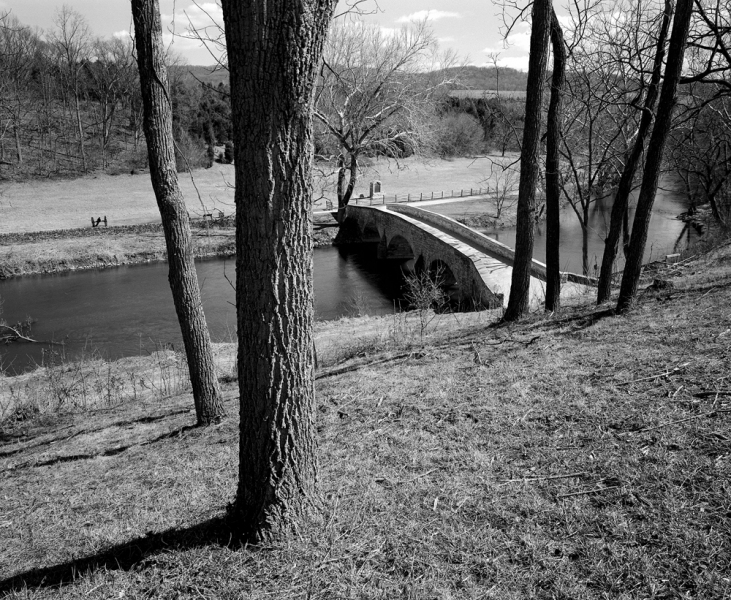 U.S. Civil War Sites II Rebel's View of Burnside Bridge at Antietam
