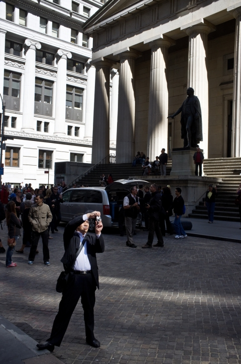 The Daily Drip Wall Street Photographer