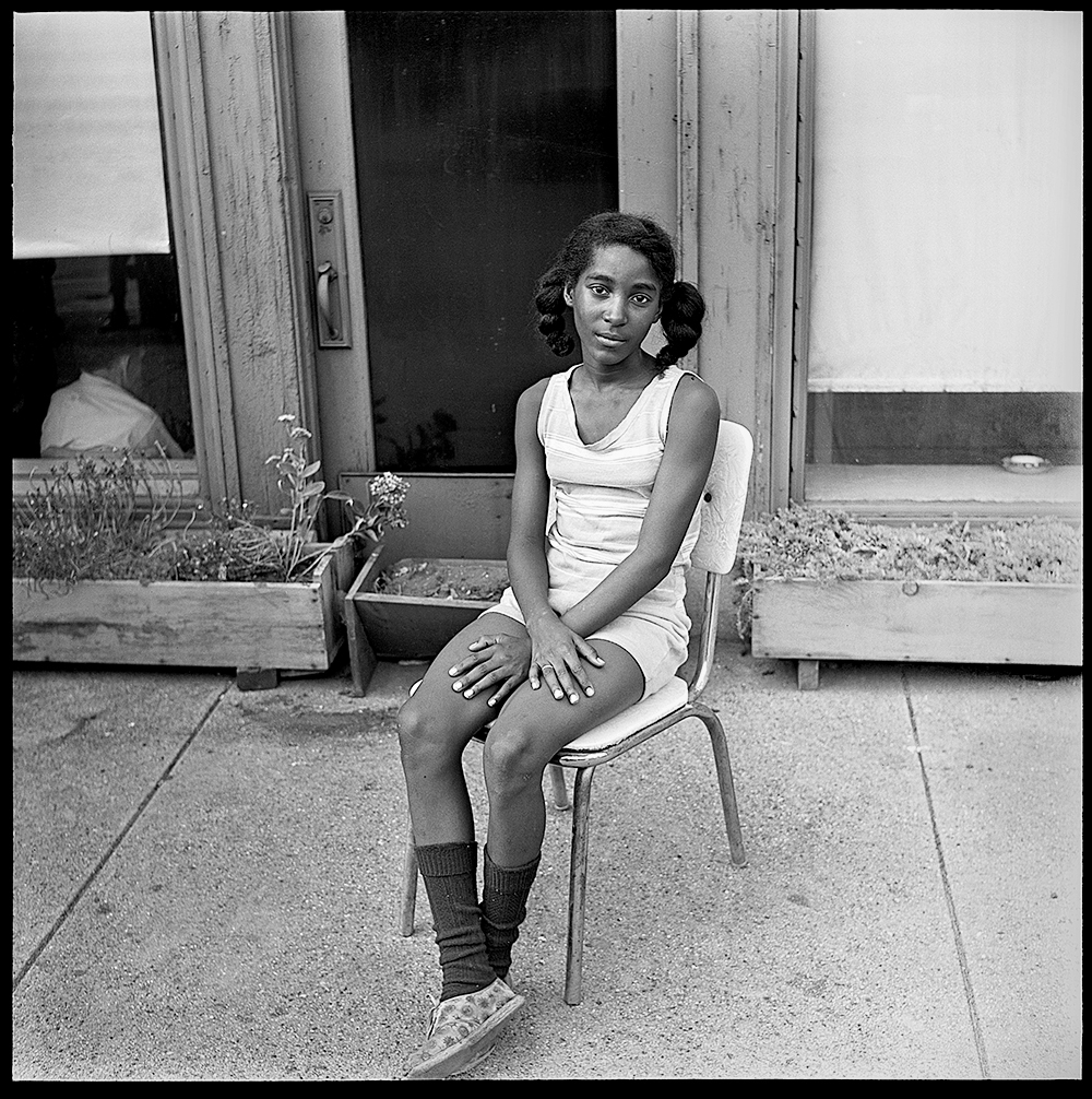 Chicago 1968 - 1969 Neighborhood Girl, Chicago