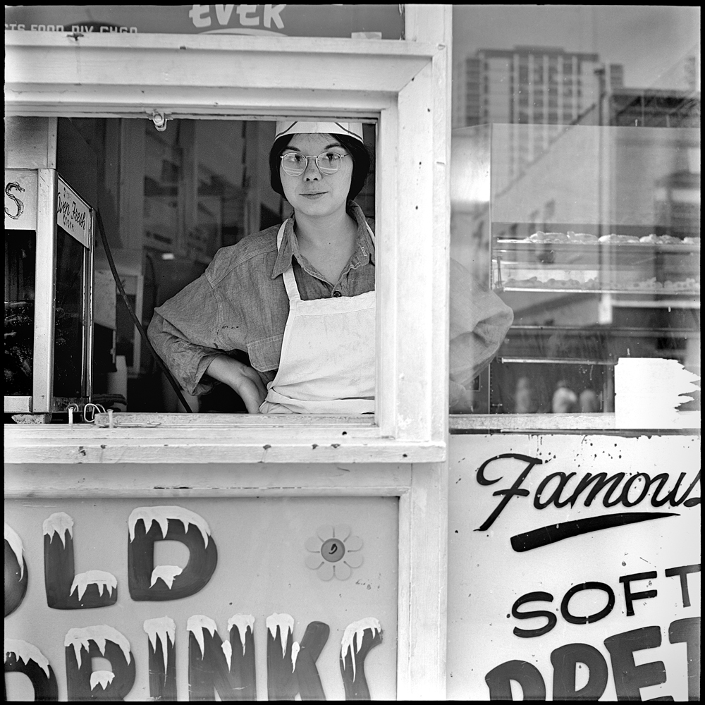 Chicago 1968 - 1969 Ice Cream Vendor, Chicago