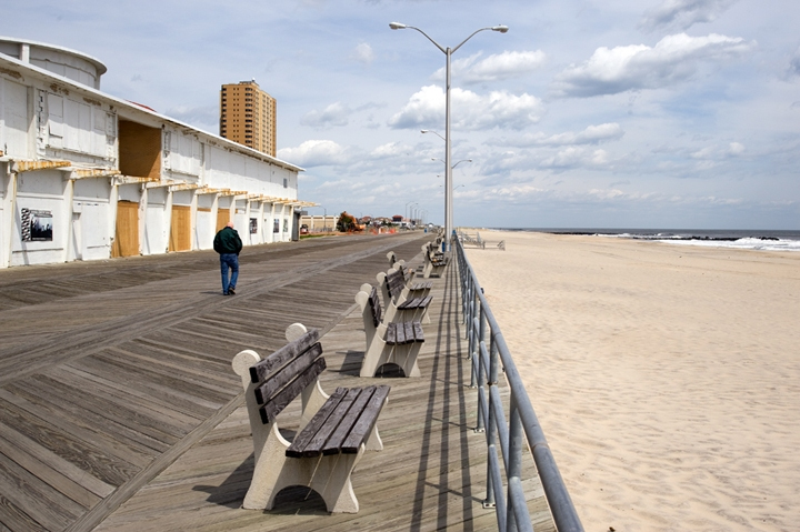 Welcome to Asbury Park Asbury Park Boardwalk, Looking North