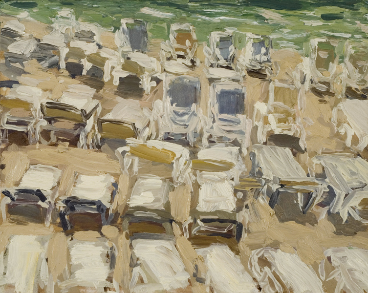Paintings Beach Chairs