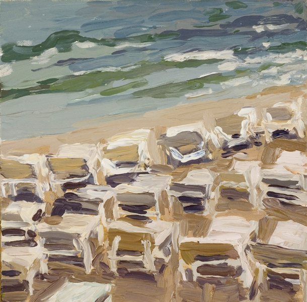Paintings Small Beach Chairs