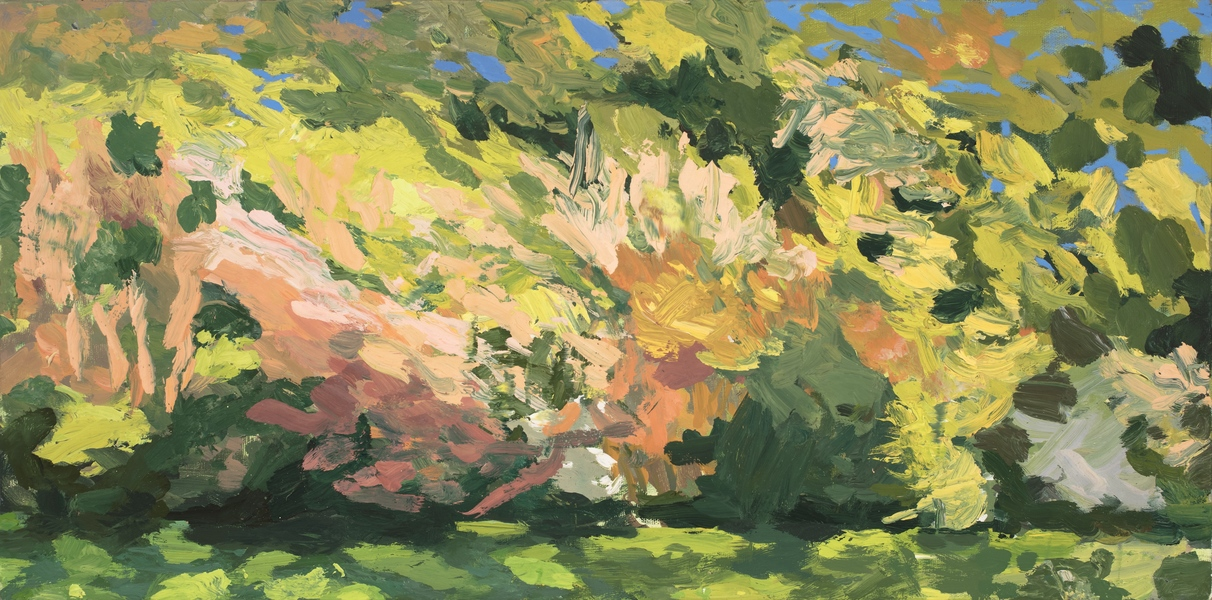 Paintings Yellow Bushes
