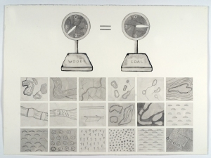 SUE JOHNSON Lost Encyclopedia Drawings Ink on paper
