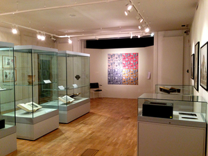 SUE JOHNSON Collecting Patterns, Salisbury and South Wiltshire Museum, Salisbury, England (2013-14)