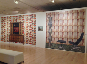 SUE JOHNSON American Dreamscape Land of Plenty (left) and Room With a View of Infinity (right)