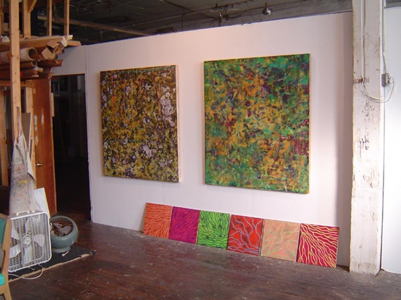 large paintings Studio Wall