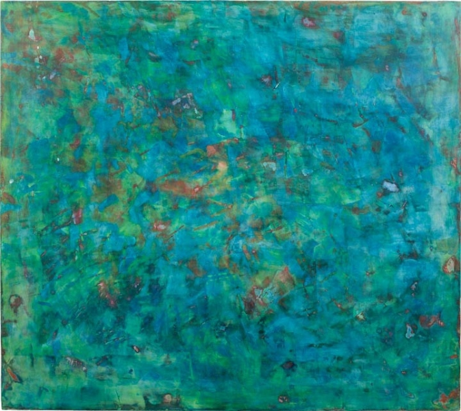 large paintings Island Blue Echo