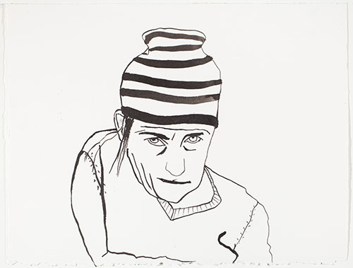 Self Portrait As... Epic Striped Hat