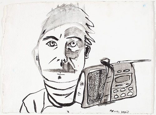 Self Portrait As... Me and My Radio