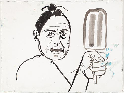 Self Portrait As... Popsicle