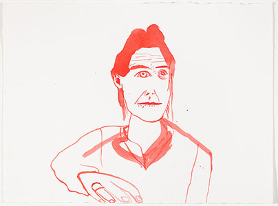 SUE MCNALLY SELF-PORTRAIT AS...