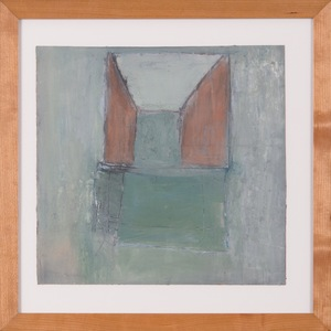 Susan Block Small framed paintings oil on paper