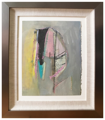 Susan Block Framed Paintings