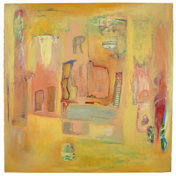 Susan Block Paintings Squares oil on paper