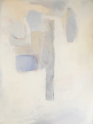 "Susan Block Paintings 35"" x 47"" oil on paper"