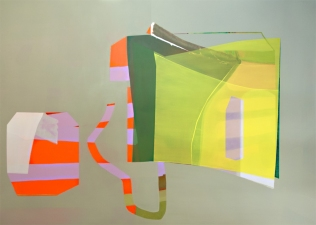 Susan Cantrick 2012-13 acrylic on polyester