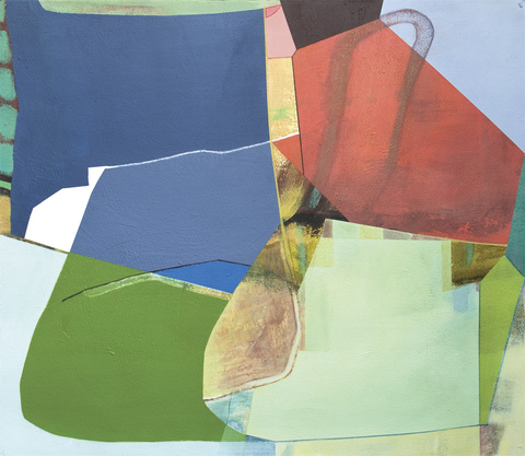 Susan Cantrick 2014-15 acrylic on paper