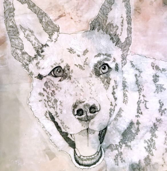susan freedman pet portraits encaustic