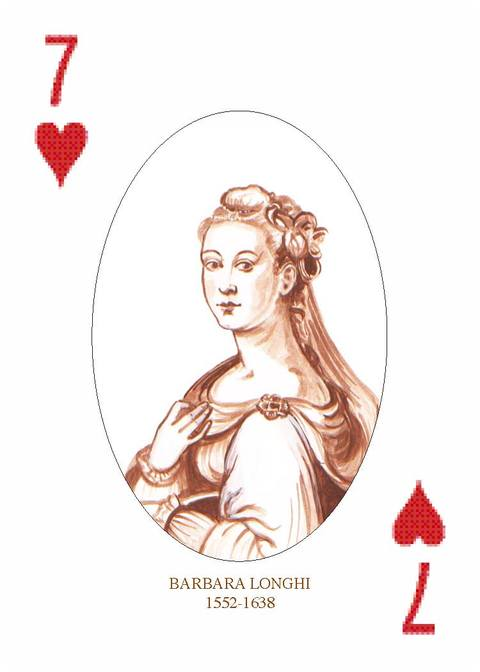 Renaissance Lady Artists Playing Cards