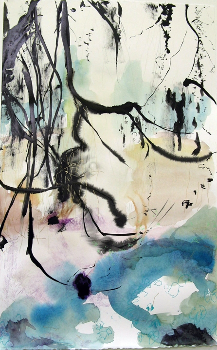 Suzanne Fontaine Willow mixed media