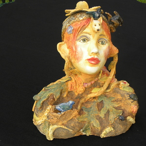 Suzi K. Edwards Sculptures and Miscellaneous Mosaics Porcelain with Underglazes