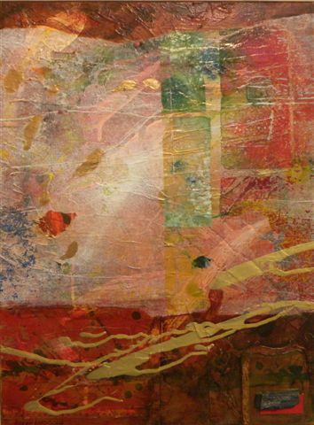 Karen Larocque mixed media