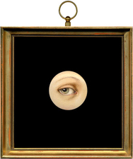 Tabitha Vevers Lover's Eye (early) Oil on ivory