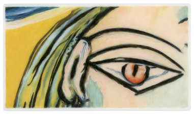 Tabitha Vevers Lover's Eye III Oil on Ivorine