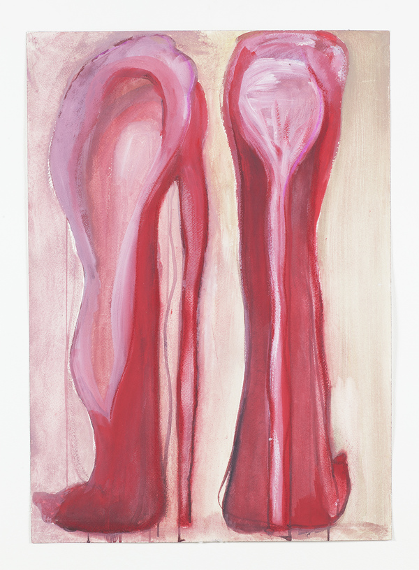 Drawing Untitled (red shoes)
