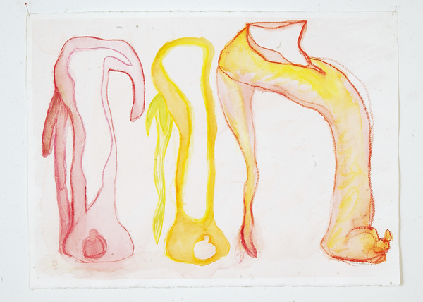 Works-on-paper Untitled (shoe grouping)