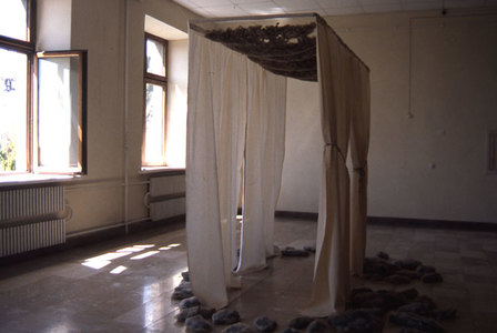 Shelter (for Gyumri Biennial, 2000)