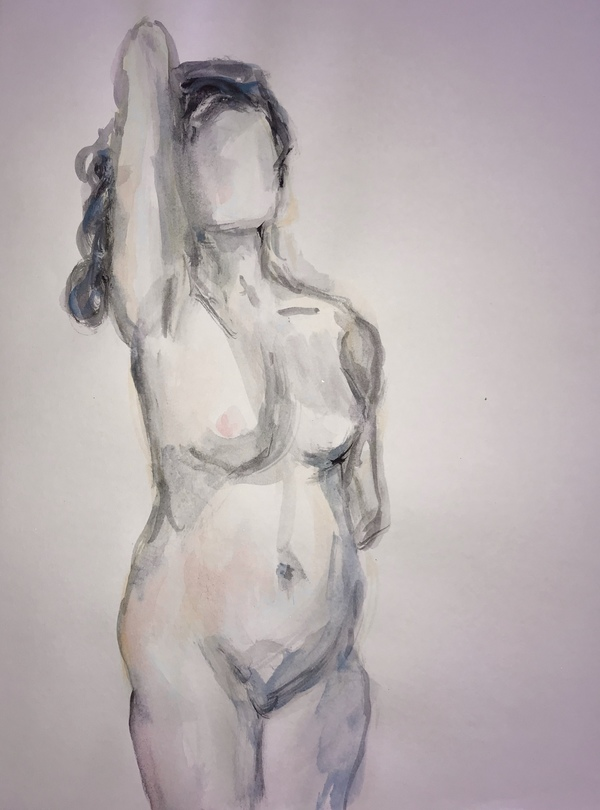 TAMMY FLYNN SEYBOLD Figurative watercolour on paper