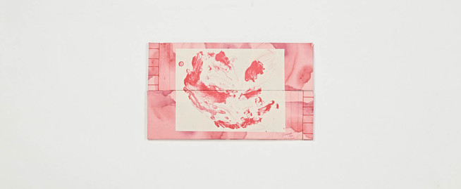 Tammy Nguyen My Twin Aunts Color lithograph and silkscreen on paper, hand bound book