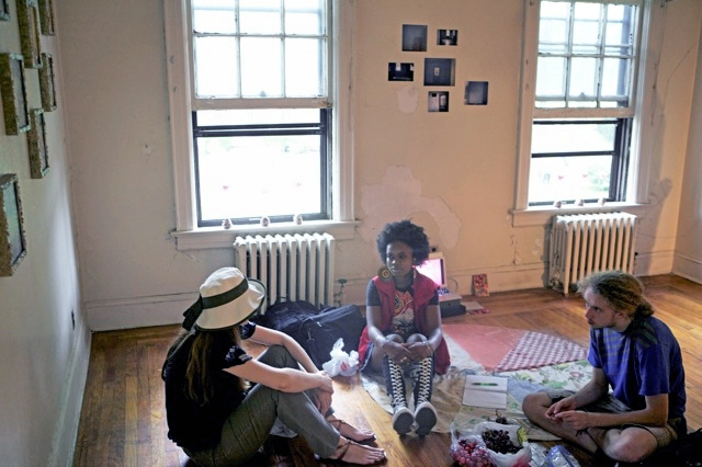 2010: Making & Sharing a Room of Our Own Caroline Parks, damali abrams, Broc Blegen