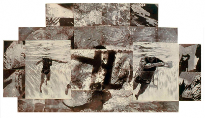 Tatana Kellner LARGE SCALE PHOTOGRAPHS altered silver print