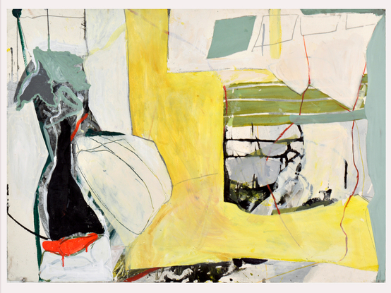 Tatana Kellner PAINTINGS acrylic, graphite on paper